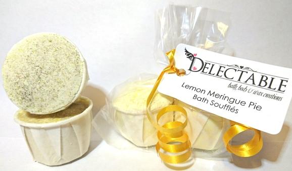 Lemon Meringue Pie Bath Soufflés