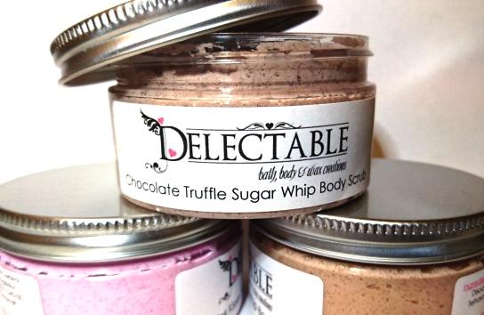 Chocolate Truffle Sugar Whip Body Scrub