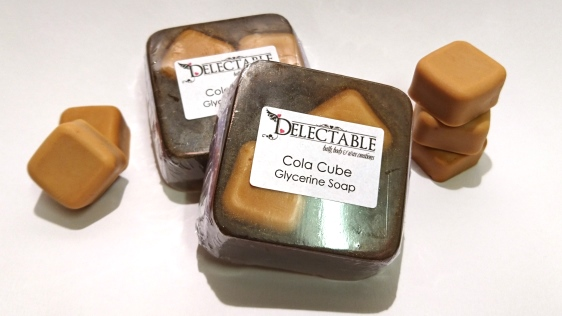 Cola Cube Glycerine Soap - NEW!