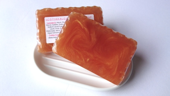 NEW! - Scottish Blossom Honey Glycerine Soap
