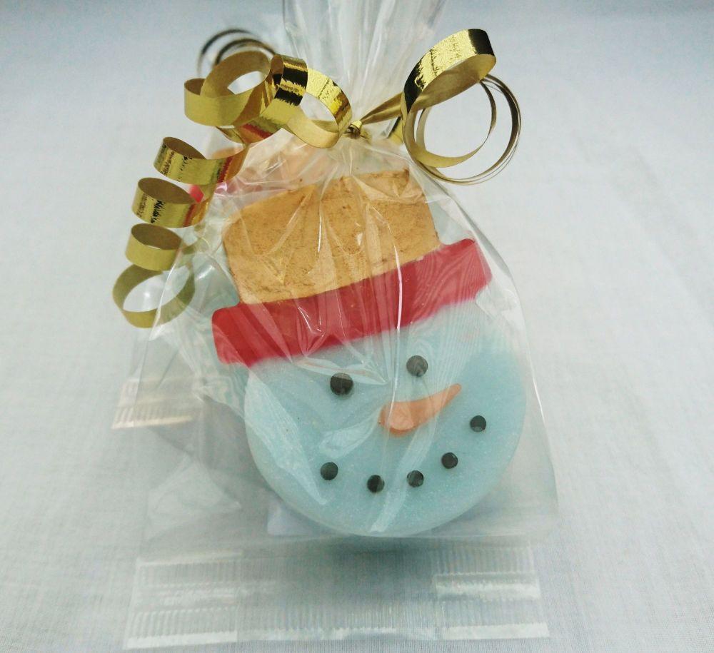Frosty Snowman Glycerine Soap
