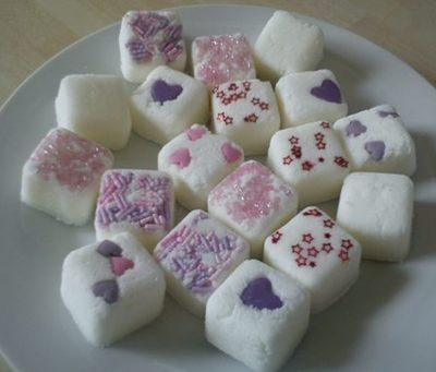 Vanilla Sugar Fizzing Cubes