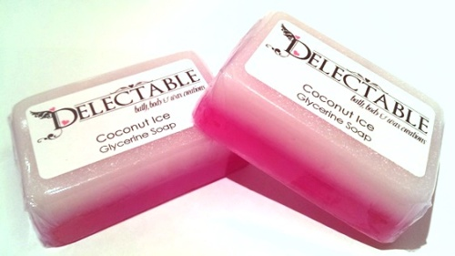 Coconut Ice Glycerine Soap