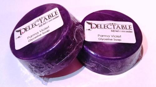 Parma Violet Glycerine Soap