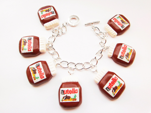 Nutella Charm Bracelet