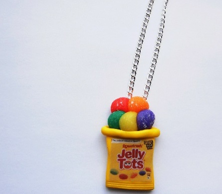 Jelly Tots Large Pendant Necklace