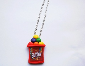 Skittles Large Pendant Necklace