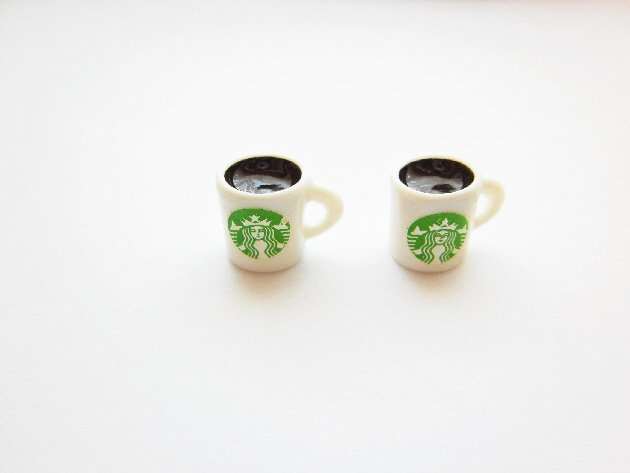 Tea Cup Earring Studs