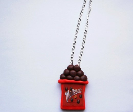 Malt Chocolate Necklace