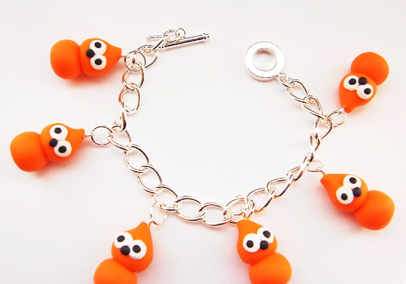 Zingy Mascot Novelty Charm Bracelet