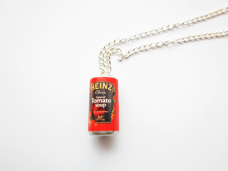 Tomato Soup Necklace