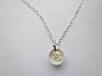 Breakfast Cereal Porridge Bowl Necklace