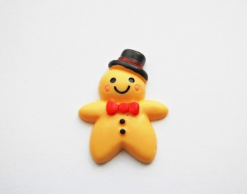 Gingerbread Man Hat Ring