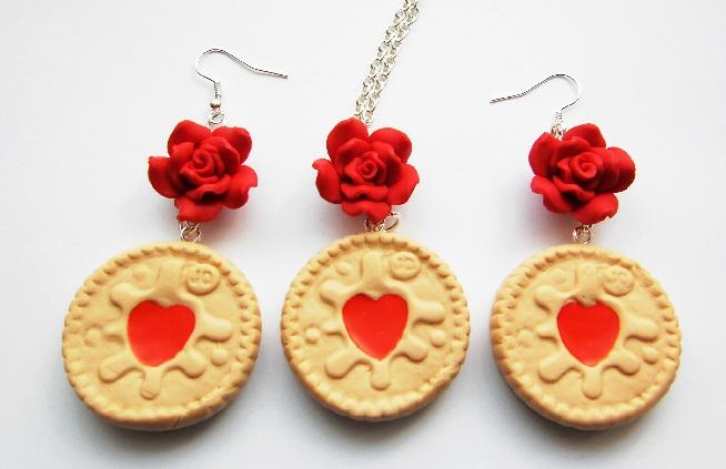 Vintage Rose Jammie Dodger Biscuit Gift Set