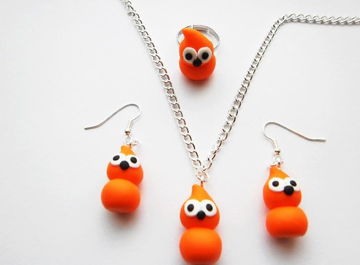 Zingy Mascot Jewellery Gift Set