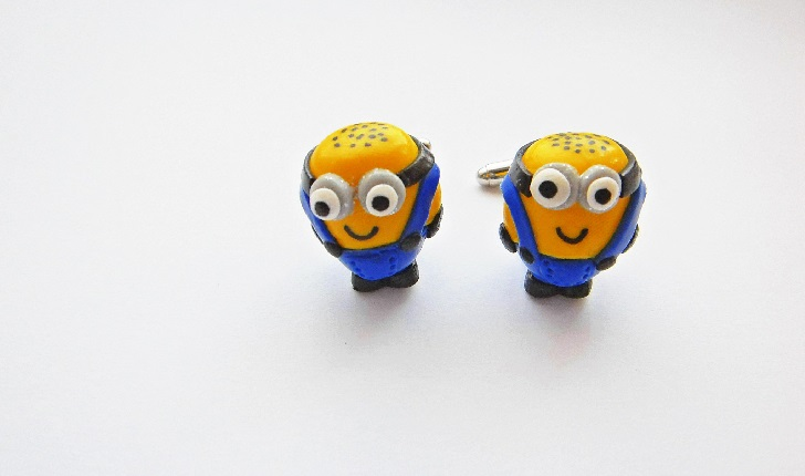 Despicable Minion Cufflinks