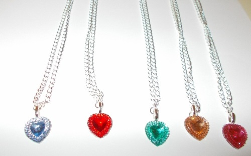 Crystal Sweetheart Necklace