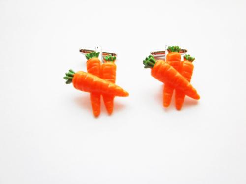 Carrot Cufflinks