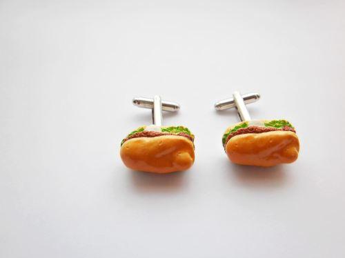 Sandwich ham Cufflinks