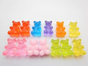 Gummie Bears Stud Earrings