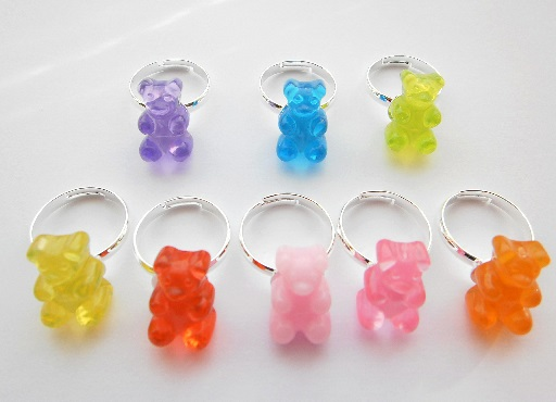 Gummie Bear Adjustable Ring