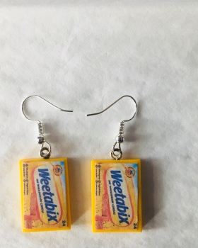 Weetabix Earrings