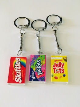 Sweet Shop Keyring Collection