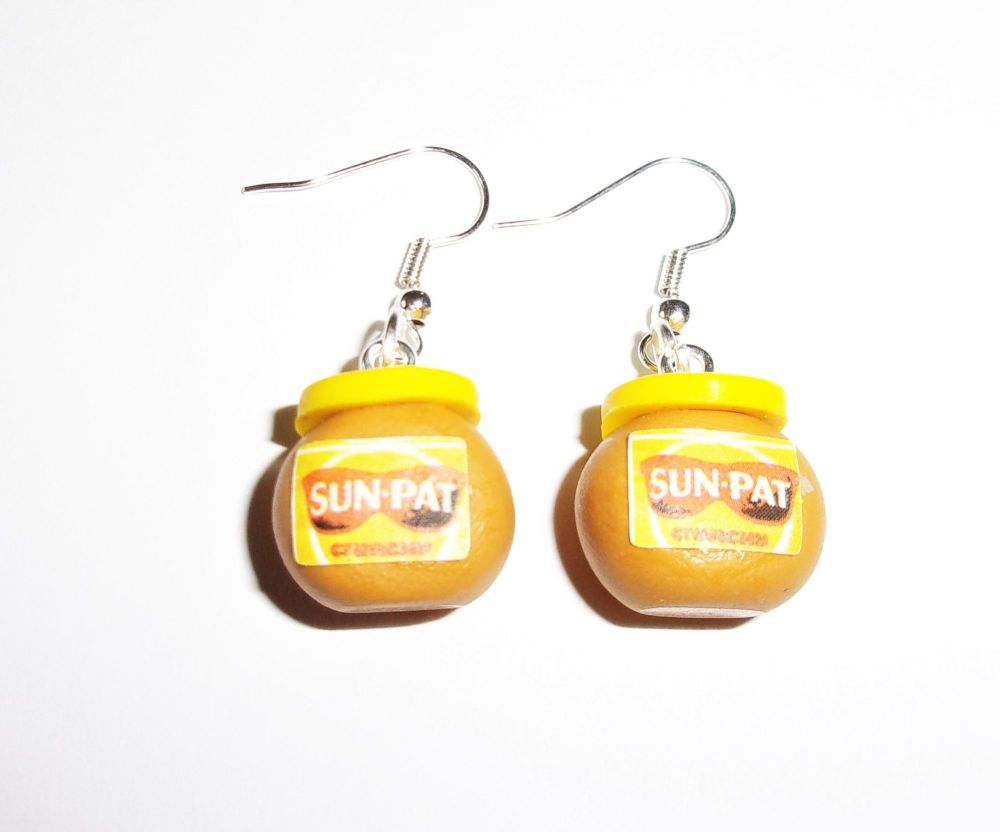 Peanut Butter Earrings