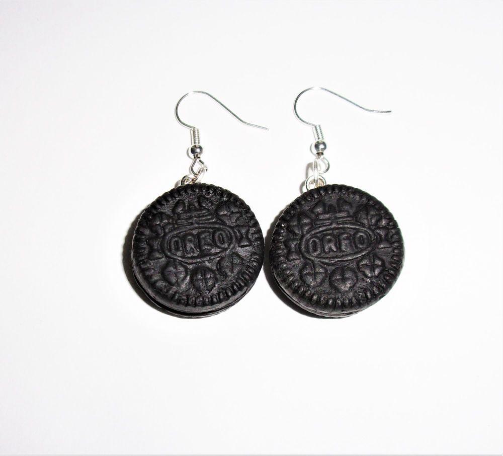 Oreo Biscuit Earrings