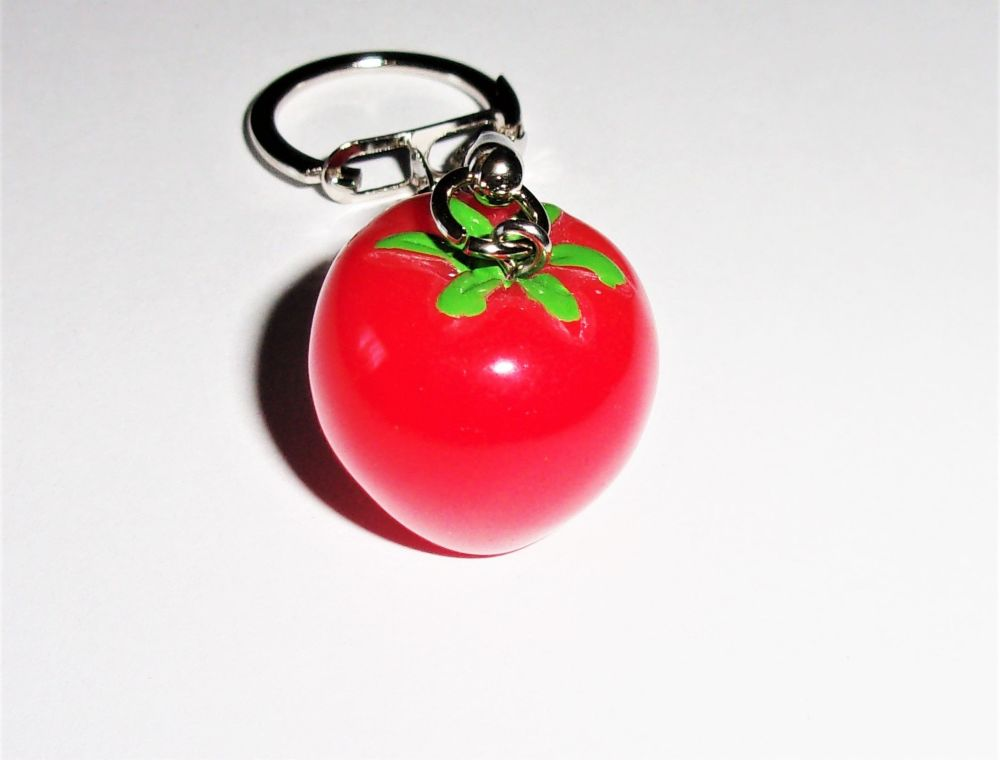 Tomato Keyring