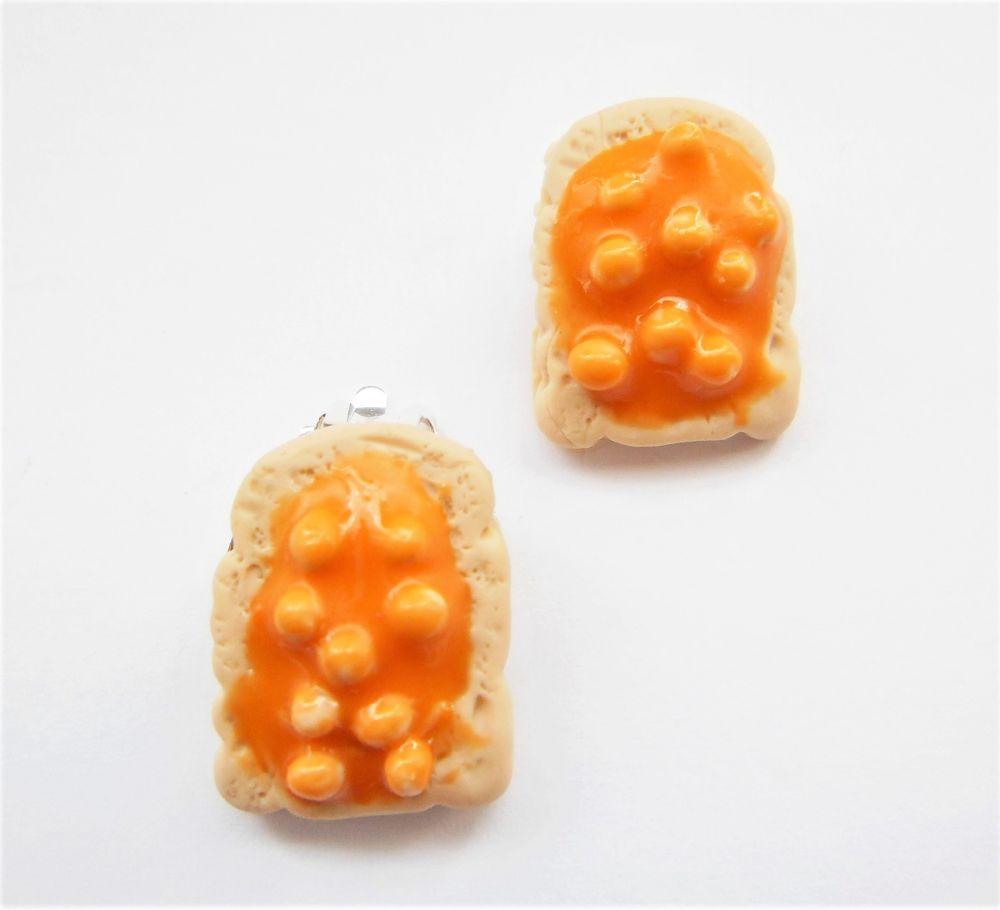 Clip On Food Earrings