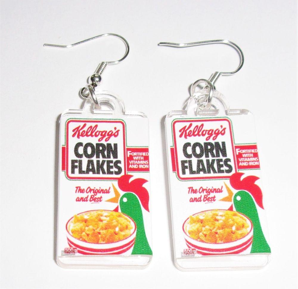 Breakfast Cereal Earrings