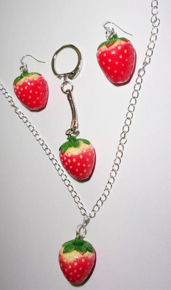 Strawberry Fruit Gift Set