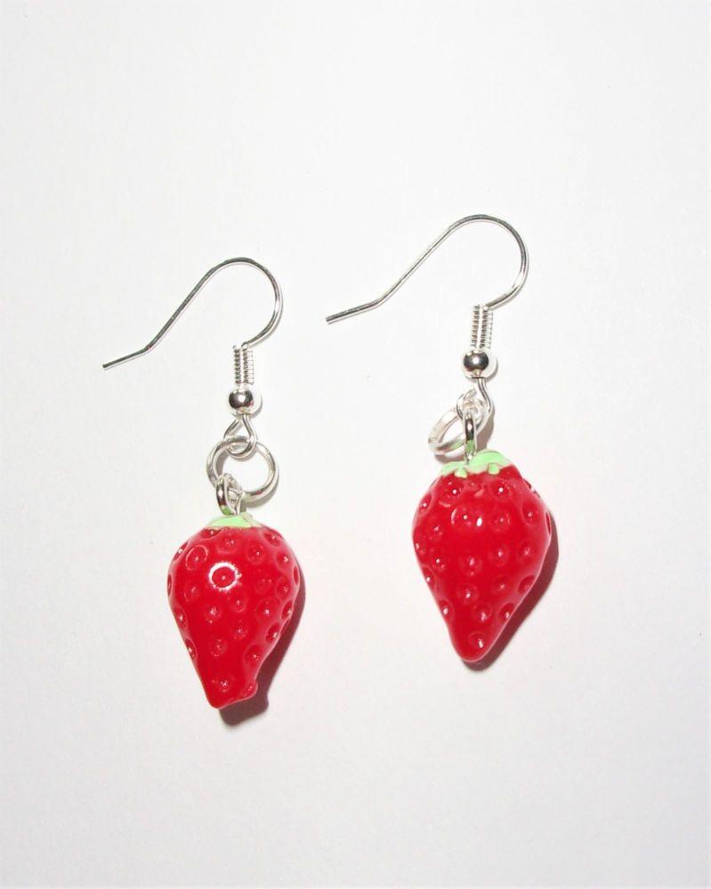 Mini Raspberry Earrings