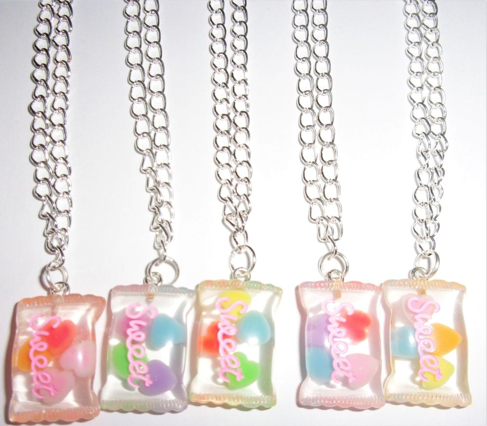 Sweets In A Packet Necklace