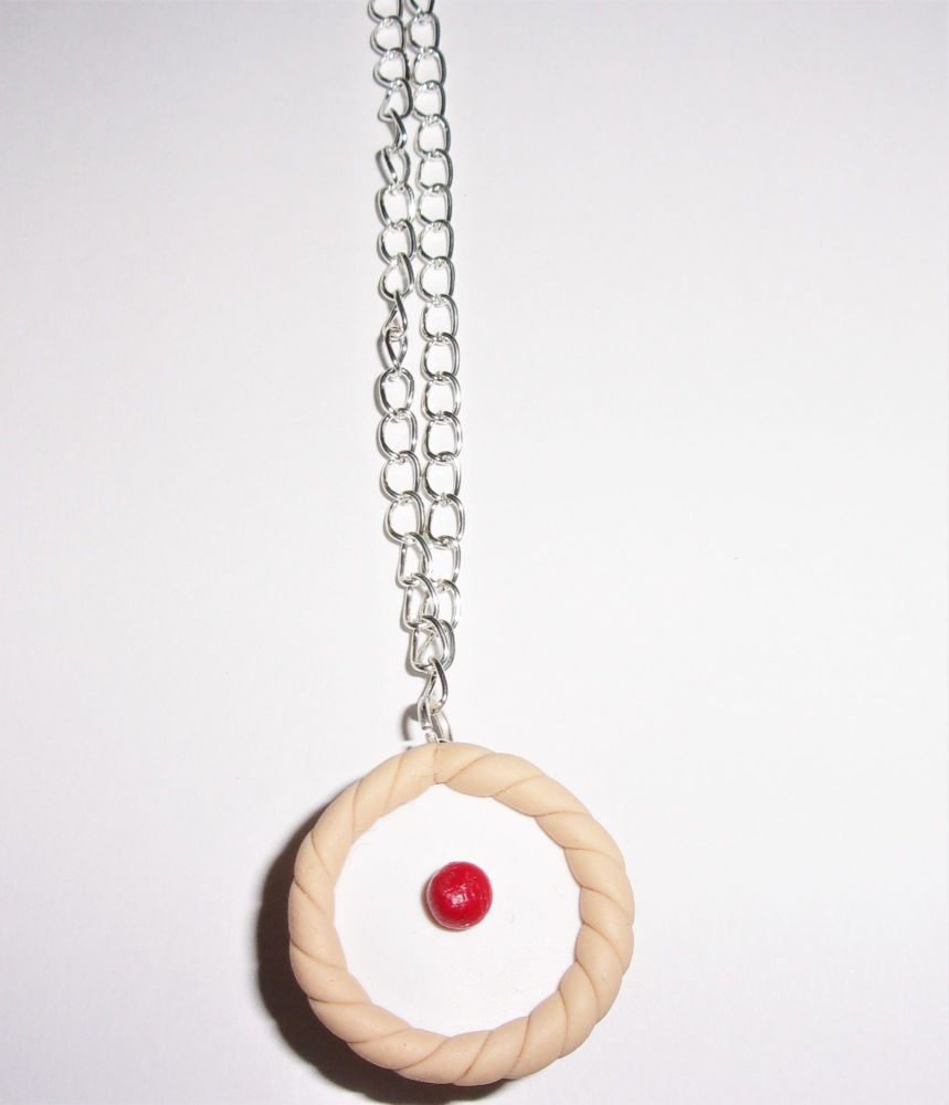 Bakewell Cake Necklace