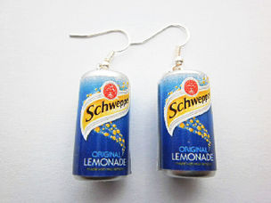 Schweppes lemonade Original Earrings