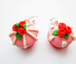 Romantic Cupcake Earrings
