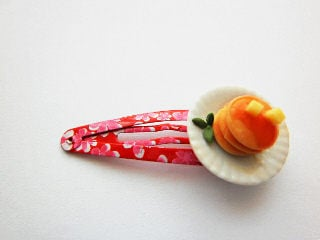 Pancake And Butter Pink Hair Slide
