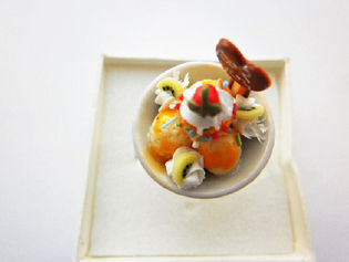 Orange And Lime Dessert Bowl Ring