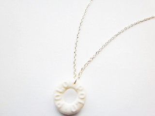 White Polo Necklace