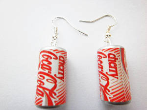 Cherry Coca Cola Earrings