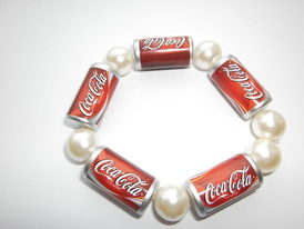 Coca Cola Pearl Bracelet
