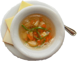 Potatoe And Carrot Soup Ring