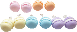 Macaroon Stud Earrings