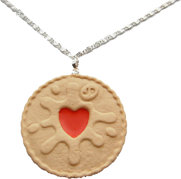 Extra Large Jammie Dodger Necklace