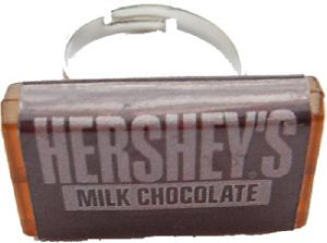 Hershey's Chocolate Bar Ring