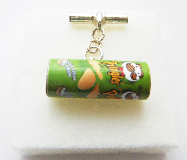 Sour Cream And Onion Pringlers Cufflinks