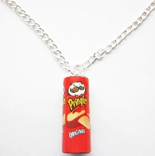 Choose Your Own Pringlers Necklace - Cheesy Cheese, Original Flavour Or Sou