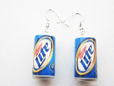 Miller Lite Earrings